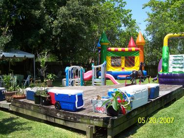 Backyard Water Fun Party